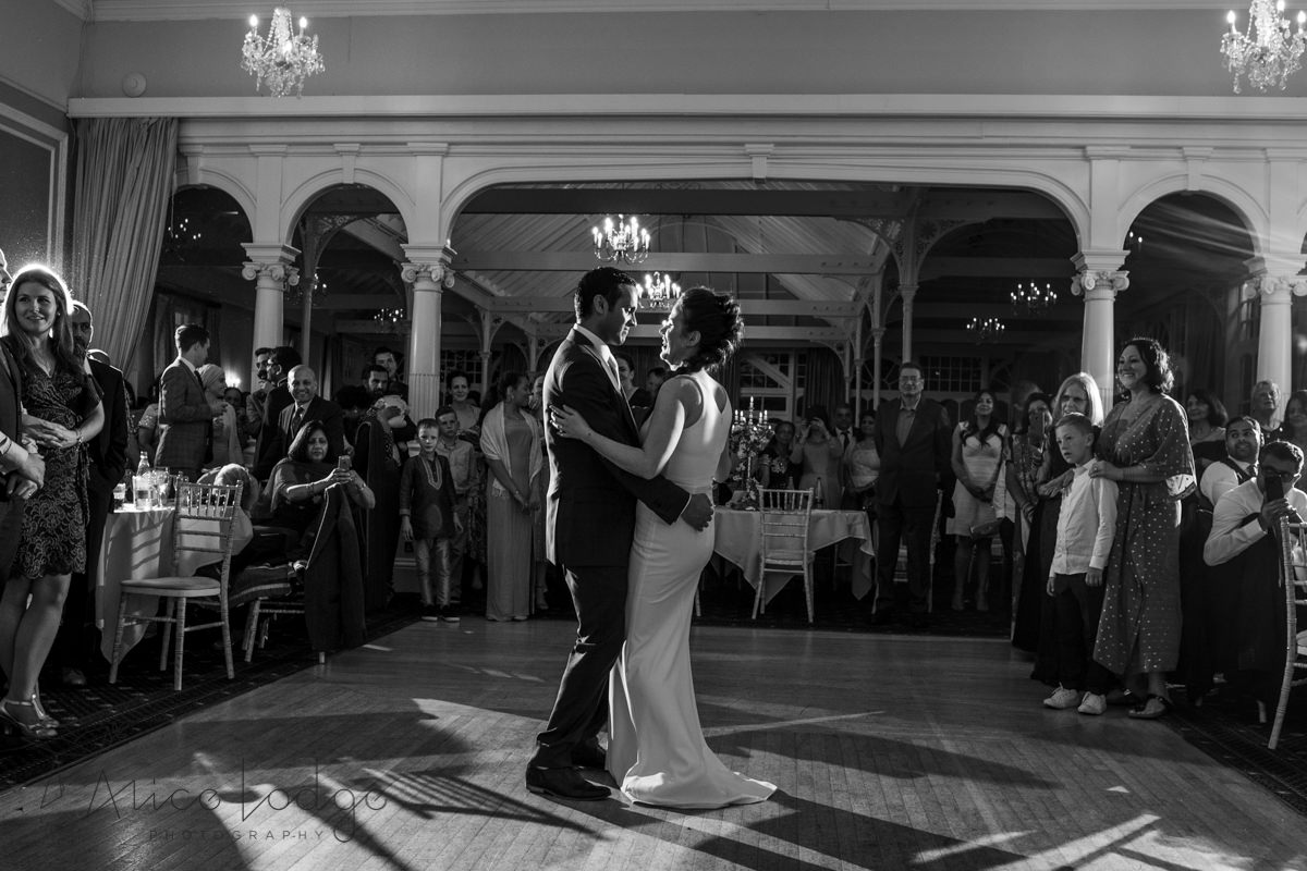 First wedding dance at old swan hotel harrogate