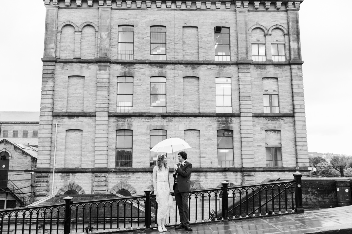 wedding photography salts mill Saltaire