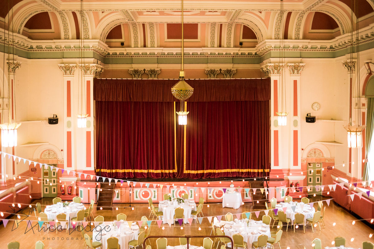 wedding Victoria Hall Saltaire