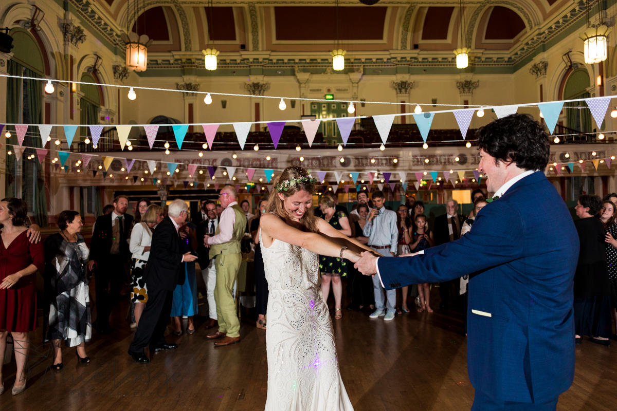 first dance Victoria Hall Saltaire