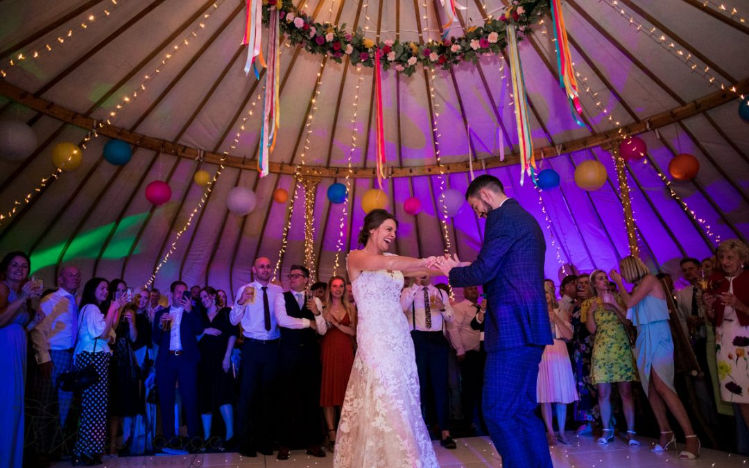 A super fun and colourful Yorkshire wedding – Fiona and Josh