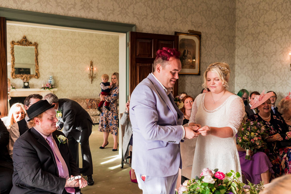 the grange hotel York wedding ceremony
