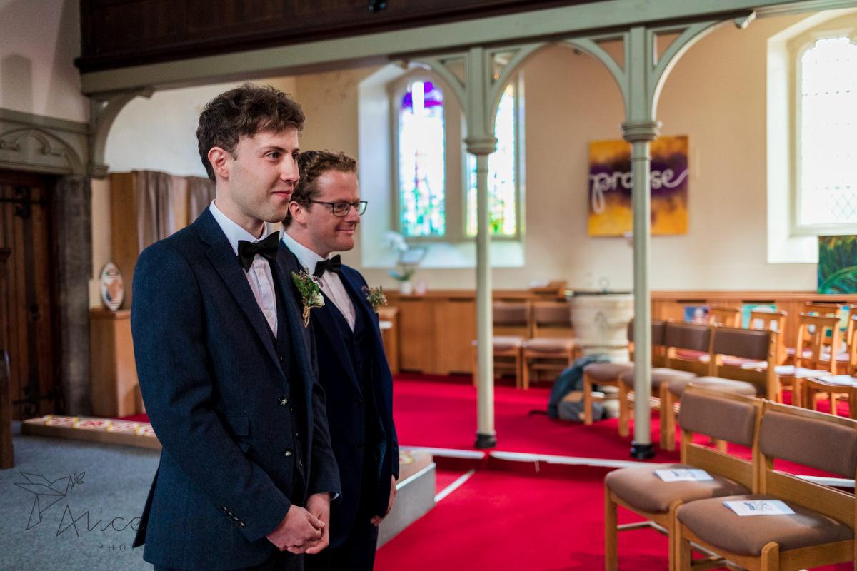 groom in york church