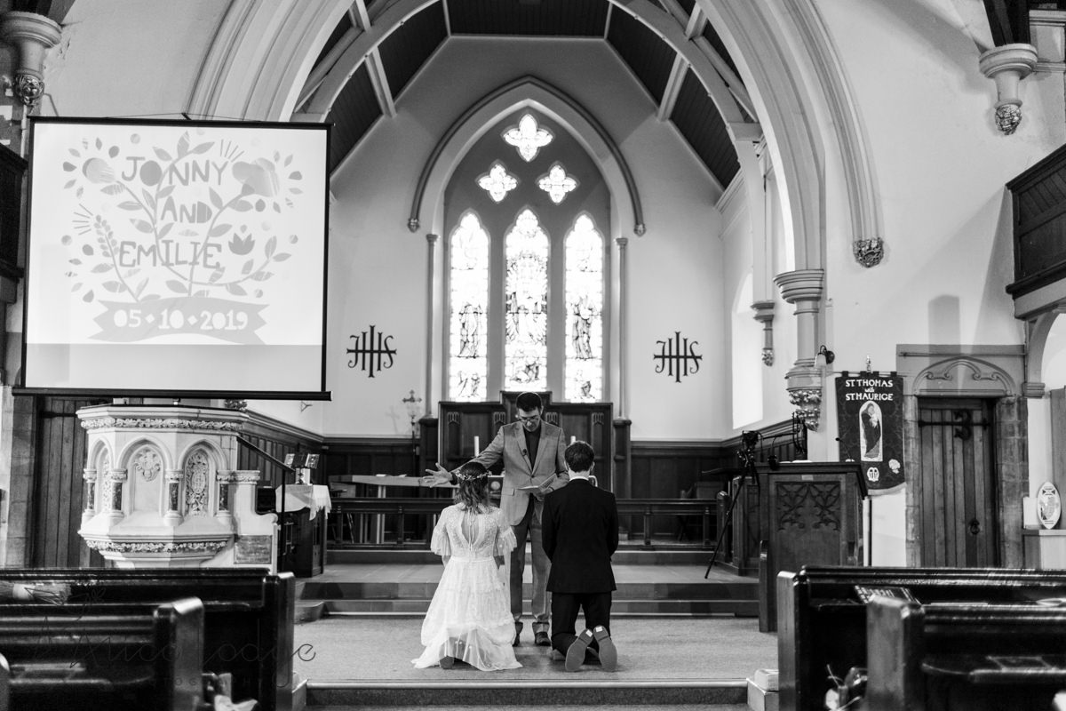 wedding ceremony st. Thomas's church York