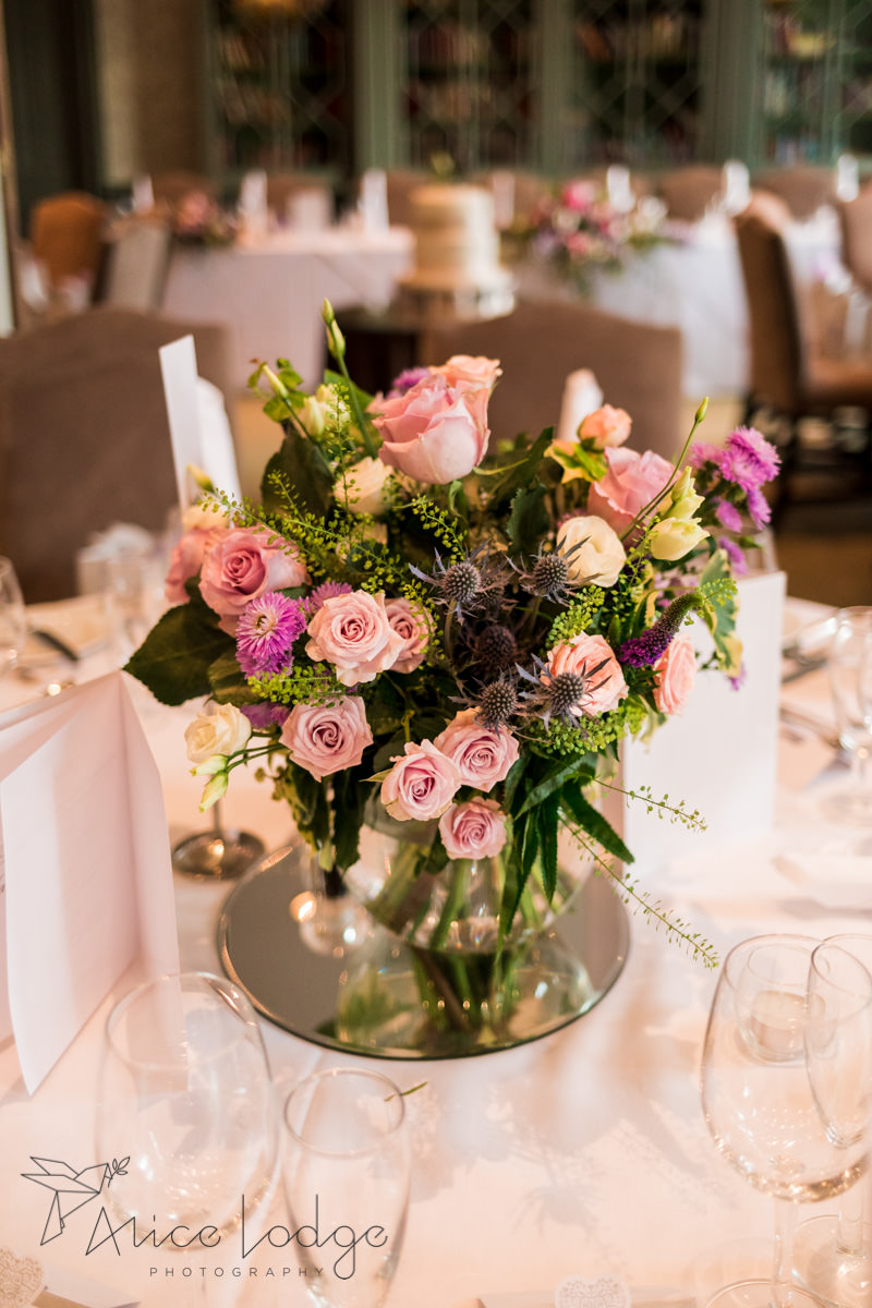 wedding flowers with roses