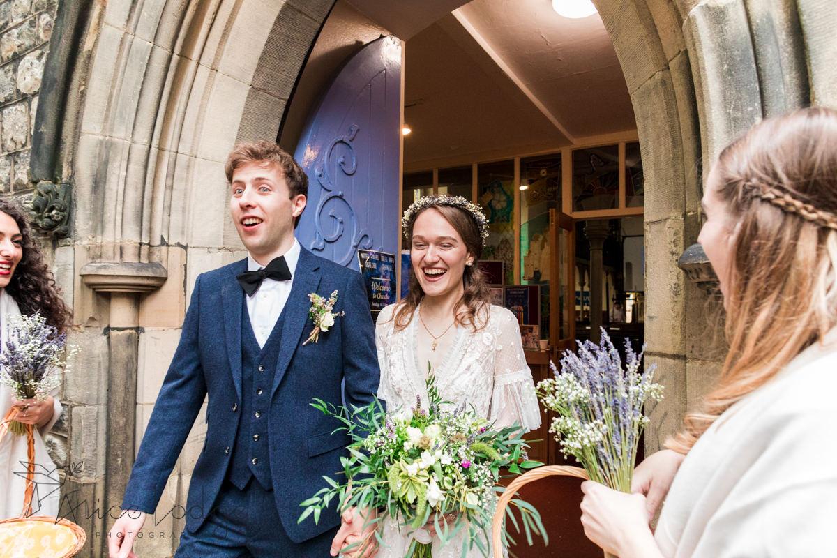 wedding confetti in York