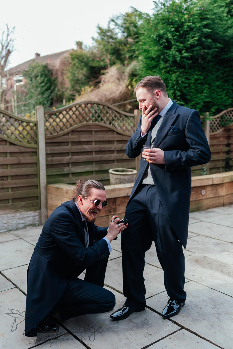 best man proposing to groom