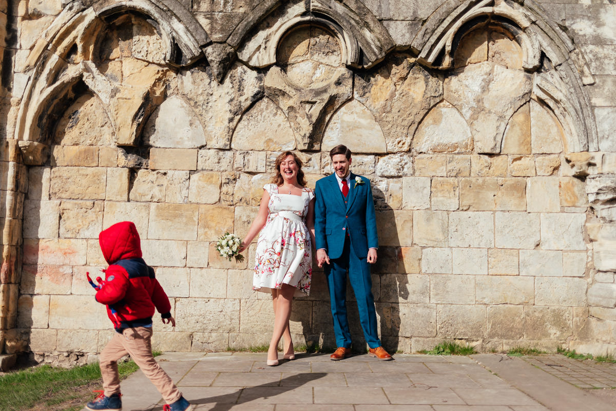 wedding photography york museum gardens