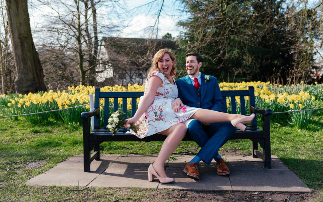 An intimate, York spring wedding – Emily and Tom