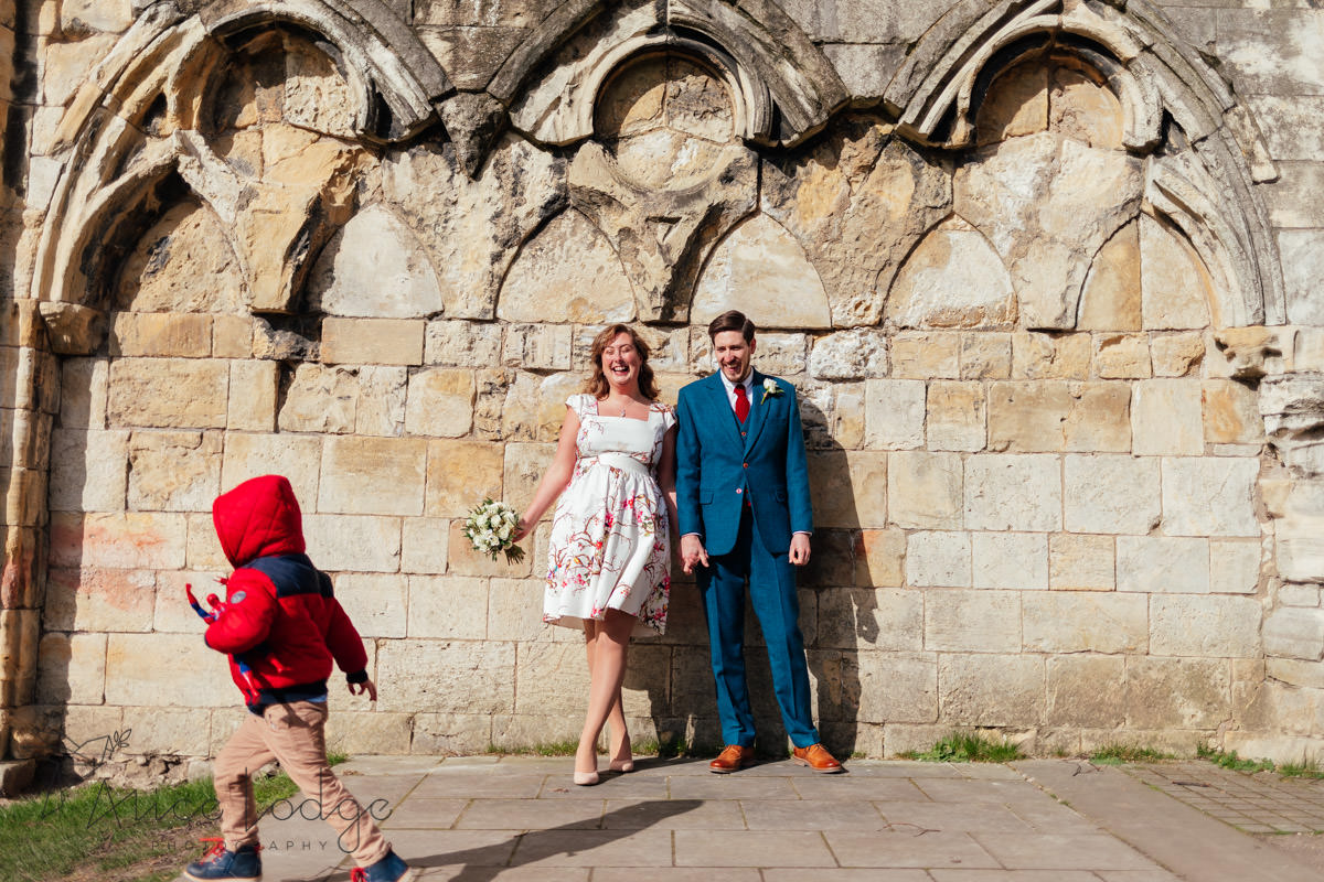 fun wedding photography yorkshire