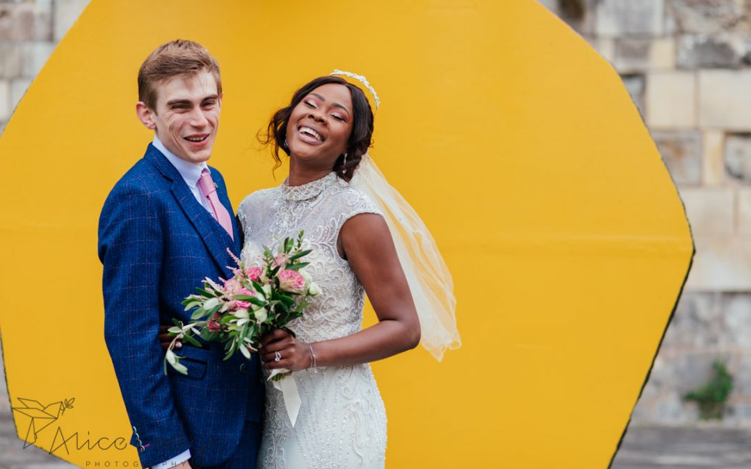 A small and beautiful York wedding – Fabienne and Jonathan
